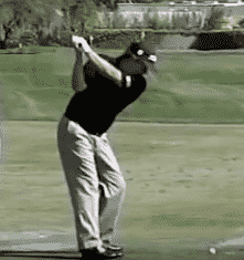 Jason Dufner at the top of his shorter backswing