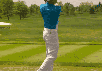 Rickie Fowler narrow stance warm up
