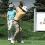 Golf Swing Tip:  Vanquish Your Over the Top Swing by Copying Bubba Watson's Elastic Left (Right) Shoulder