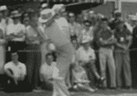 Sam Snead at top of backswing starter move