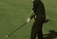 Gary Player Stop Slicing by hitting a draw