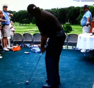 Phil Mickelson Bad Golf Shot recovery
