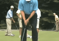 Steve Stricker one two stroke though putting