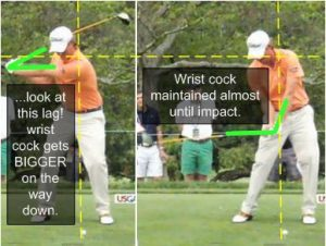 webb simpson downswing golf lag wrist cock swing sequence