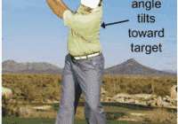 Golf Swing Drill:  Stack and Tilt Your Way to More Consistency