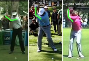 golf left arm straight bent left elbow kenny perry angel cabrera tom watson